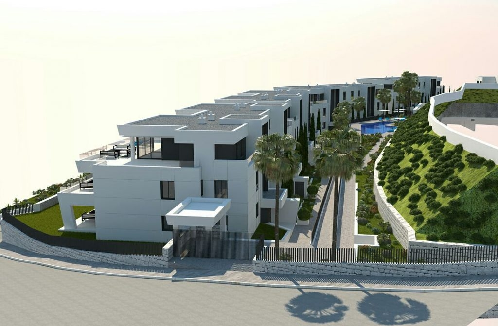 New complex of modern apartments. Nueva Andalucía
