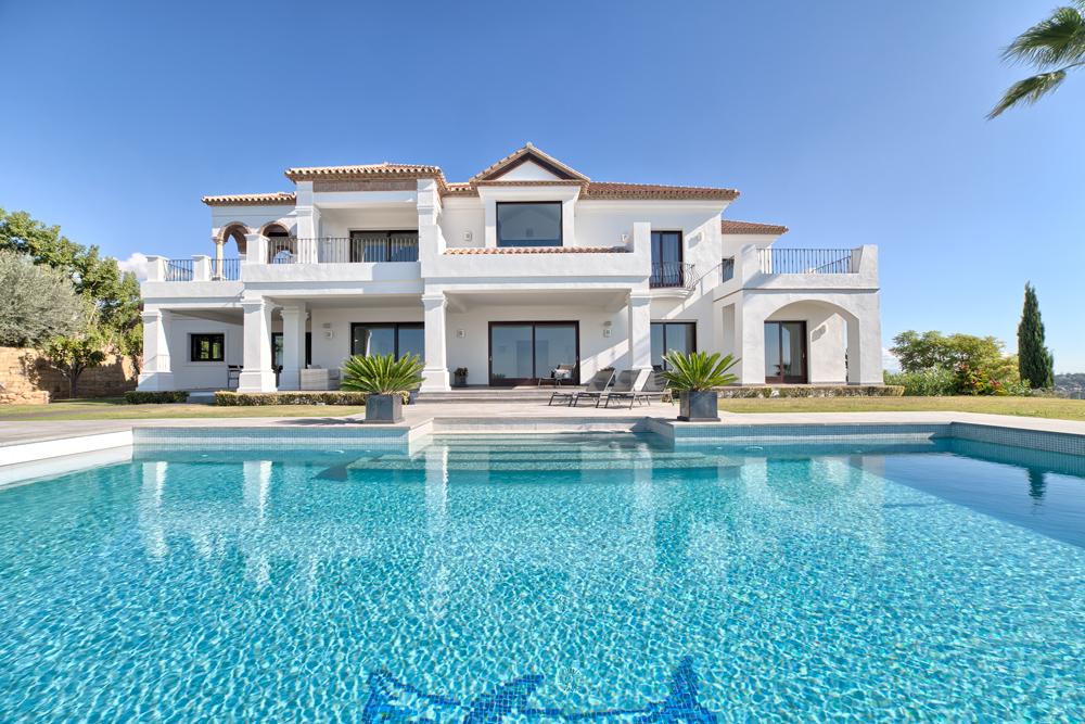 Villa de alta calidad en Los Flamingos golf.