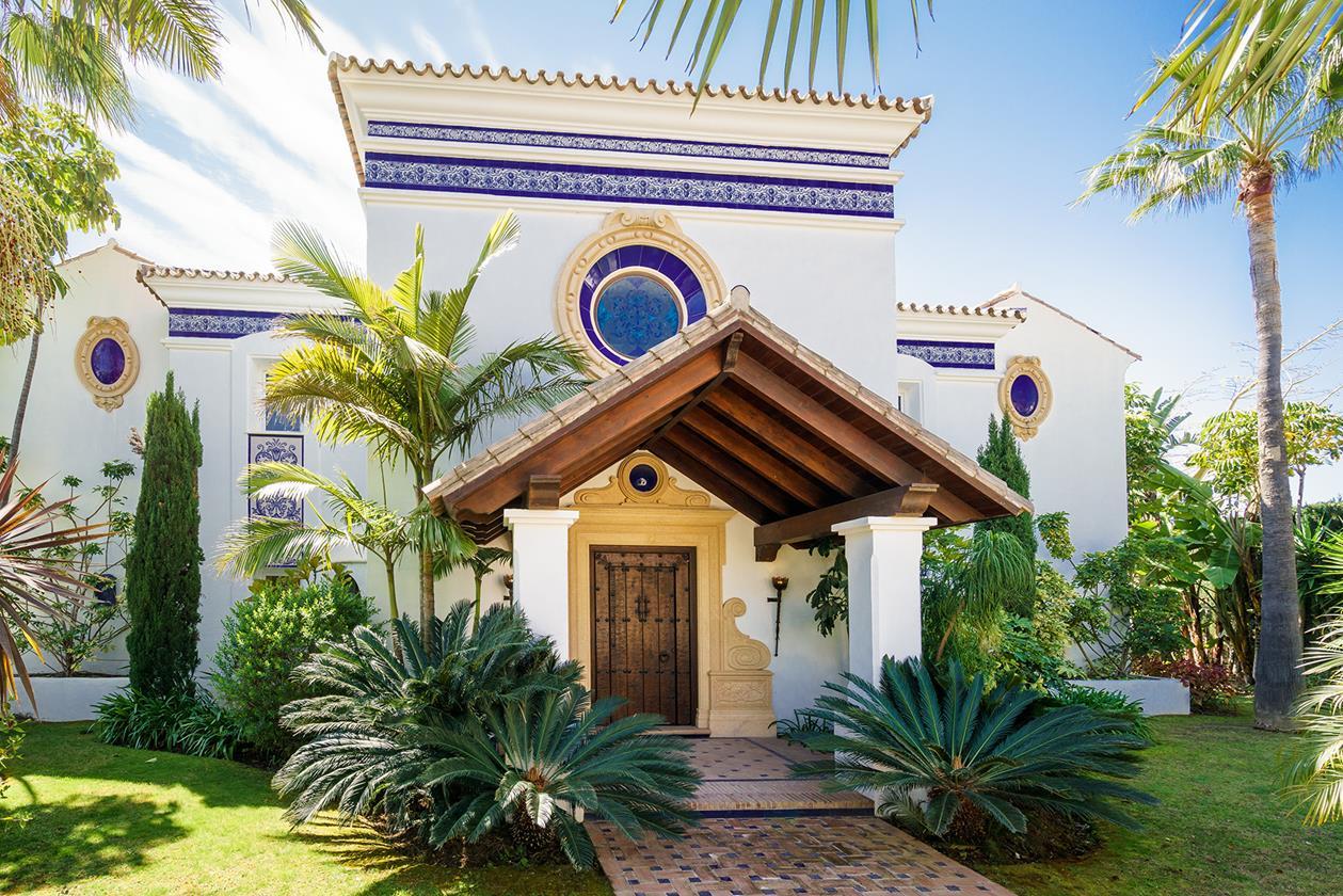 Típica villa Española en Benahavis.