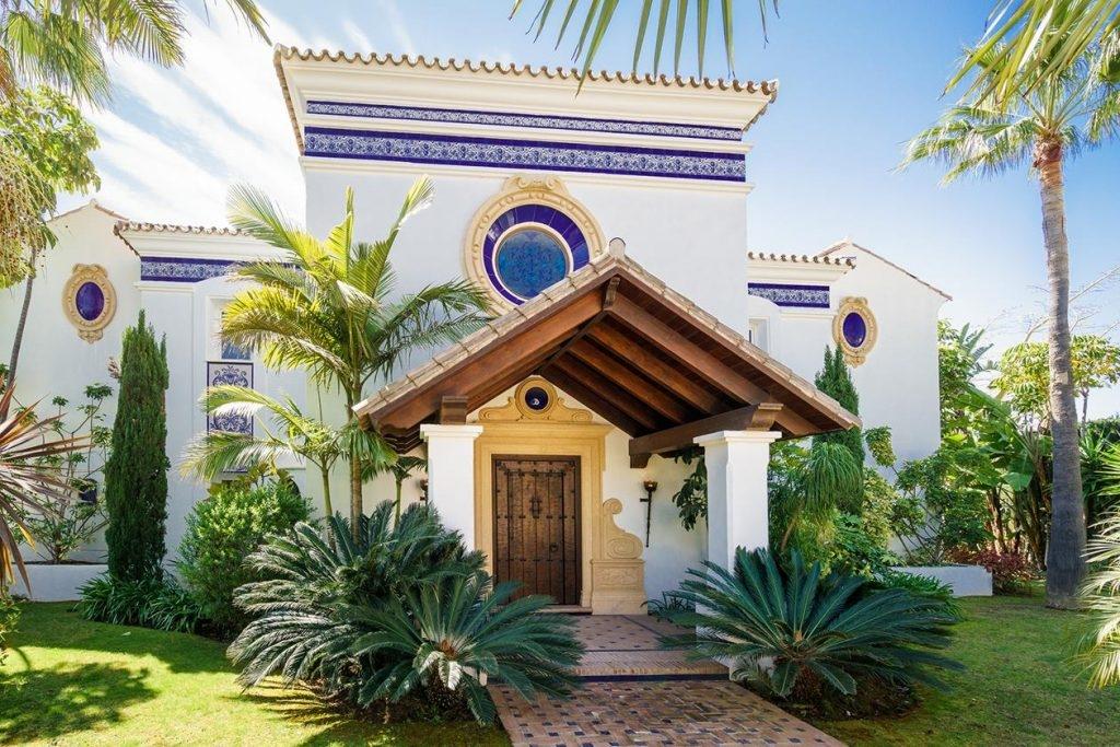 Typical Spanish villa in Benahavis.