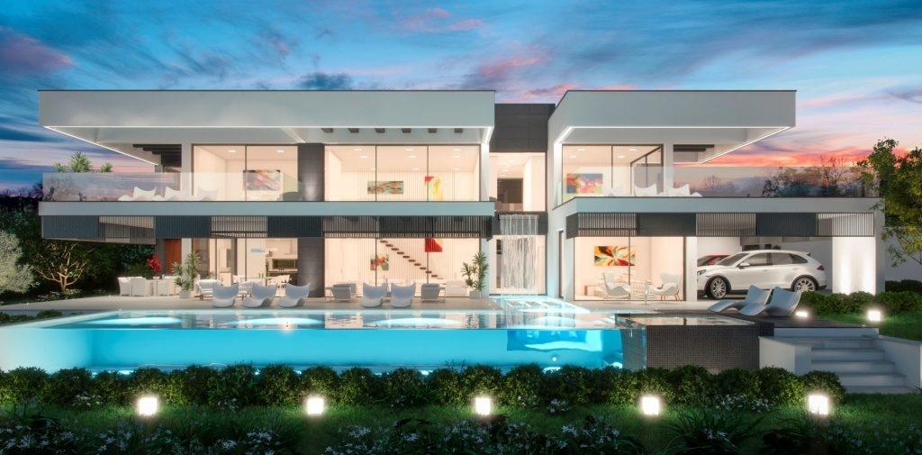 Fascinating new villa in Golf Valley
