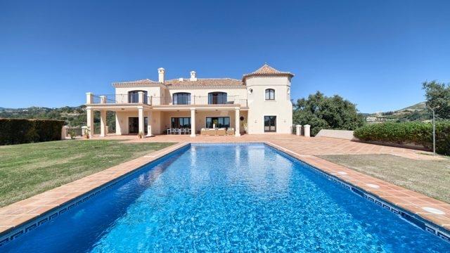 stylish quality mansion in Marbella Club