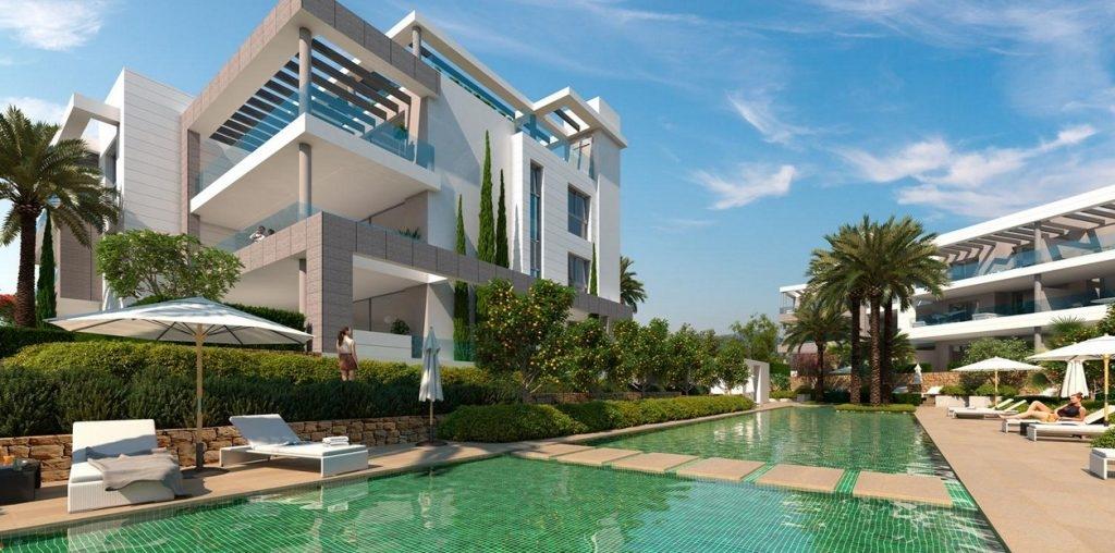 Fabulous contemporary apartments and penthouses near Cancelada. Estepona.