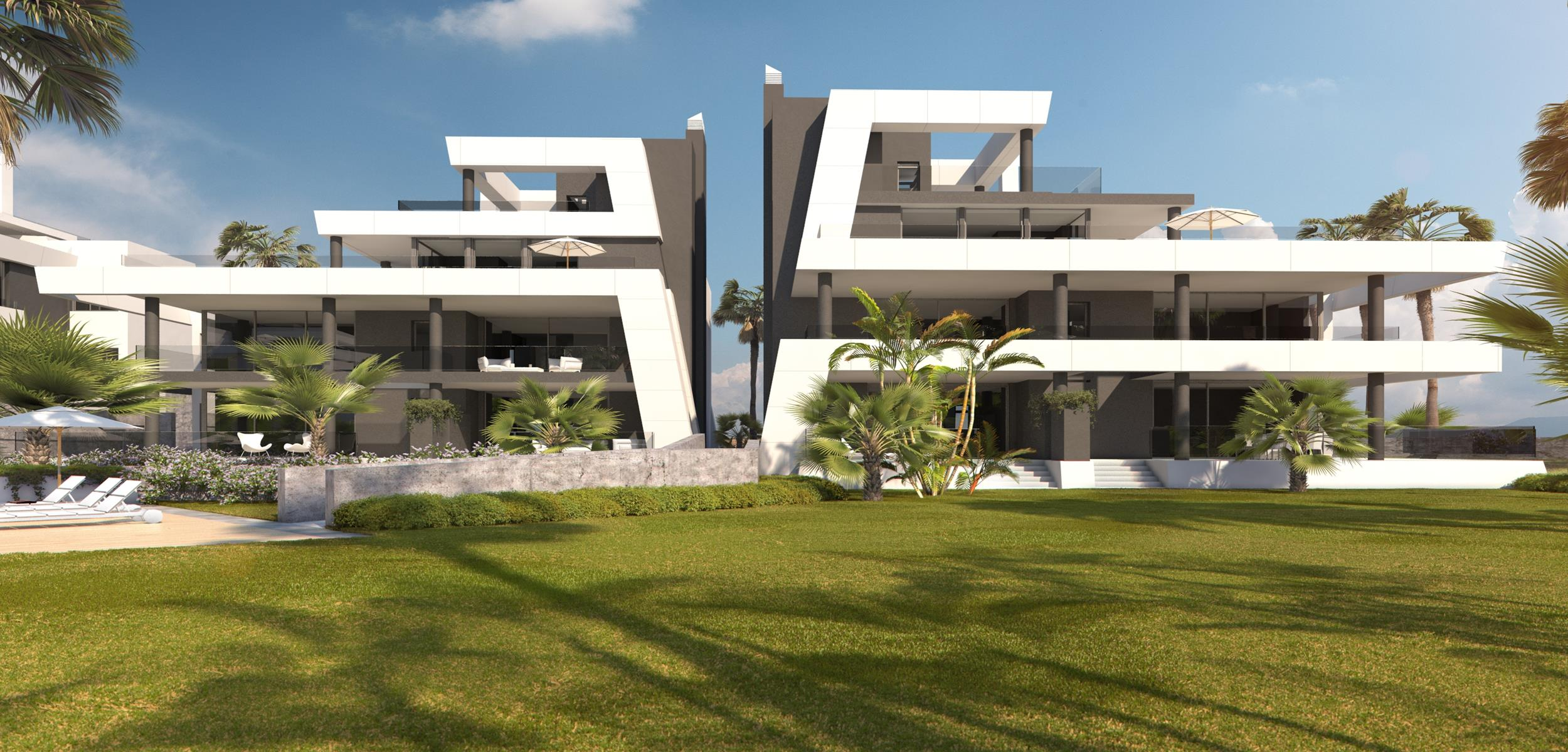 Promotion of apartments and penthouses in Cabopino.