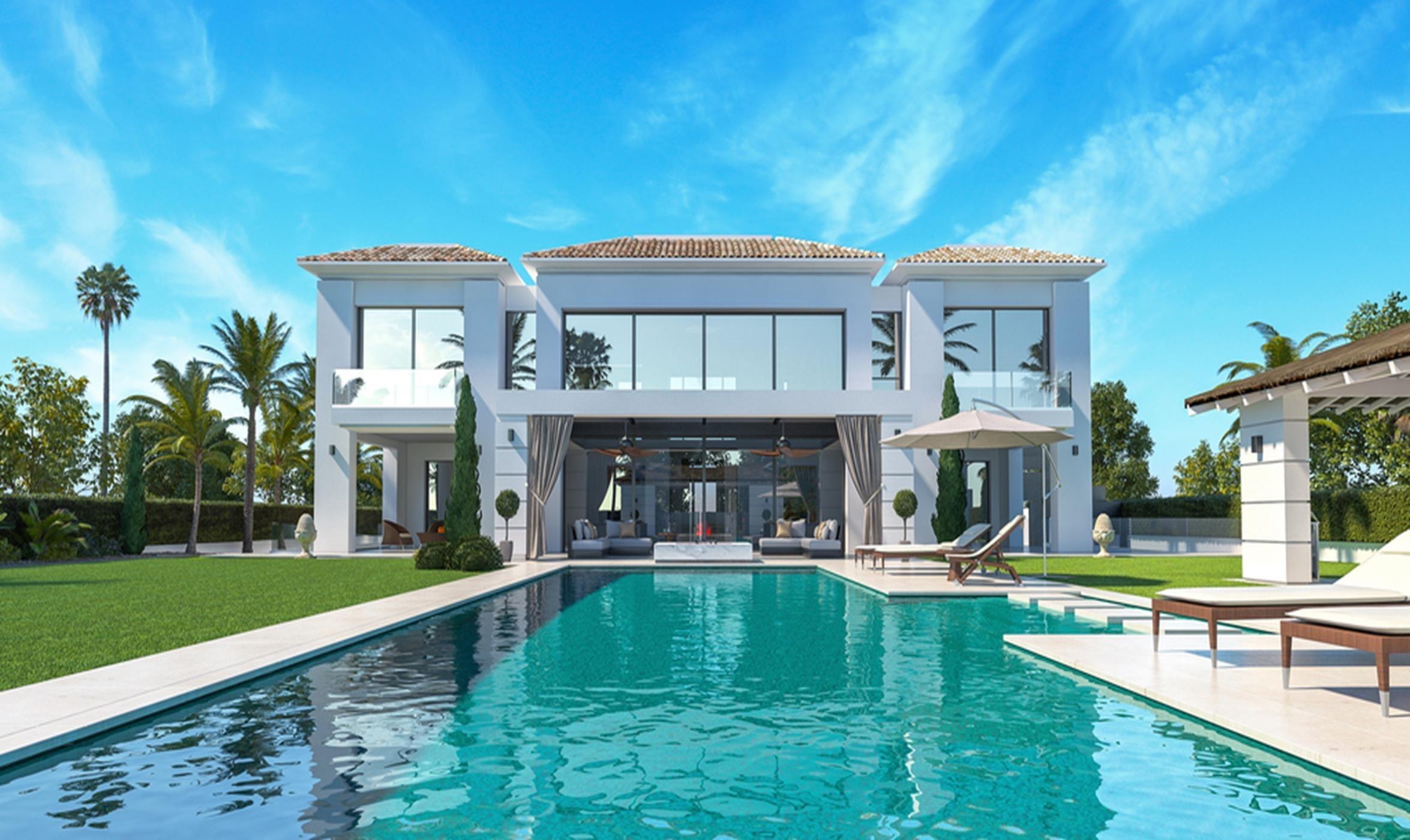 Modern villa in Casasola, Marbella.