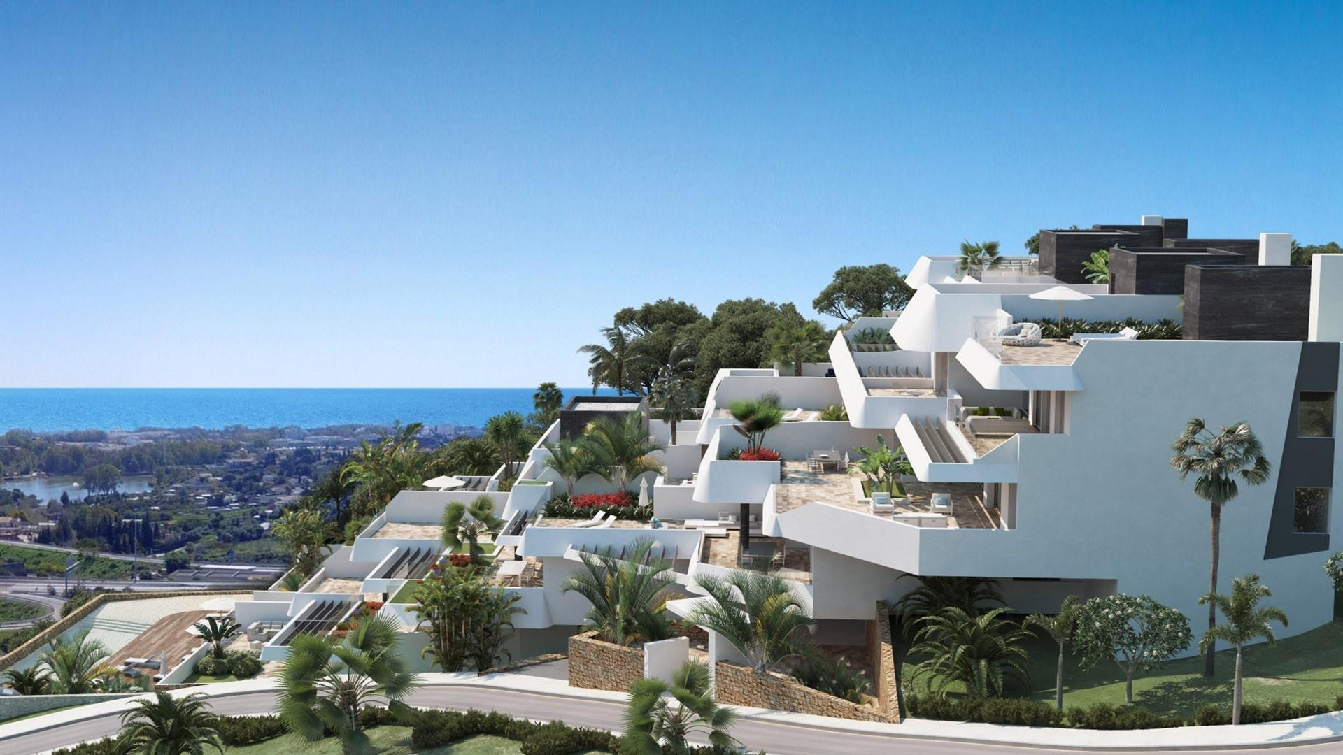 Complejo de apartamentos personalizados cerca de San Pedro de Alcántara.