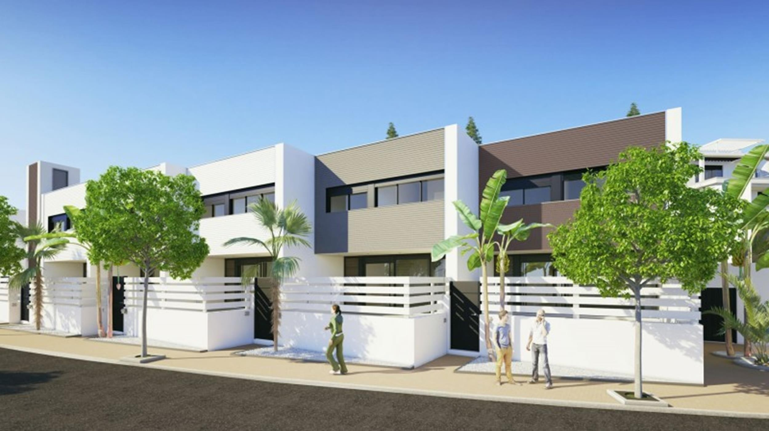 Contemporary townhouses in Estepona