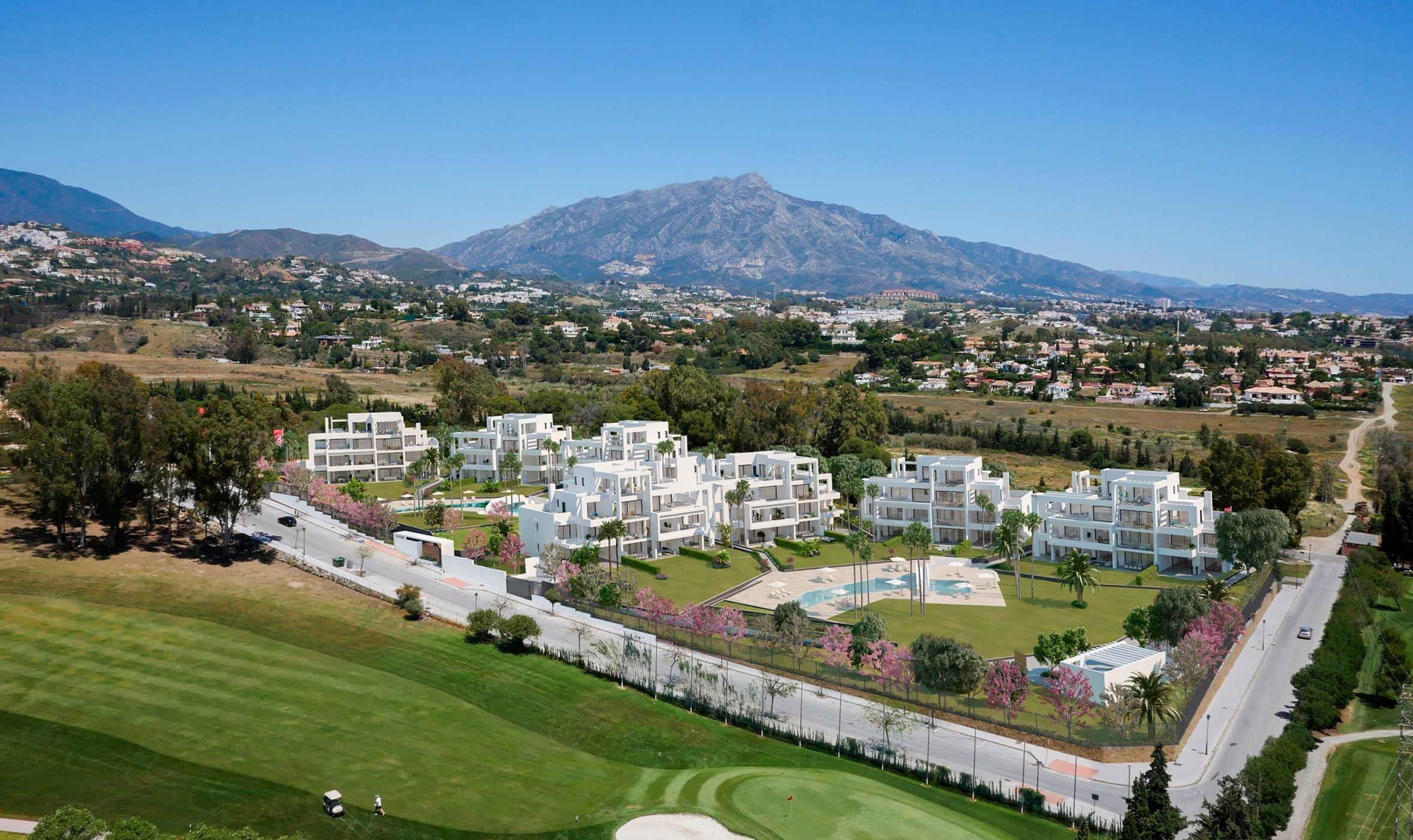Apartamentos de diseño moderno en Atalaya Alta.