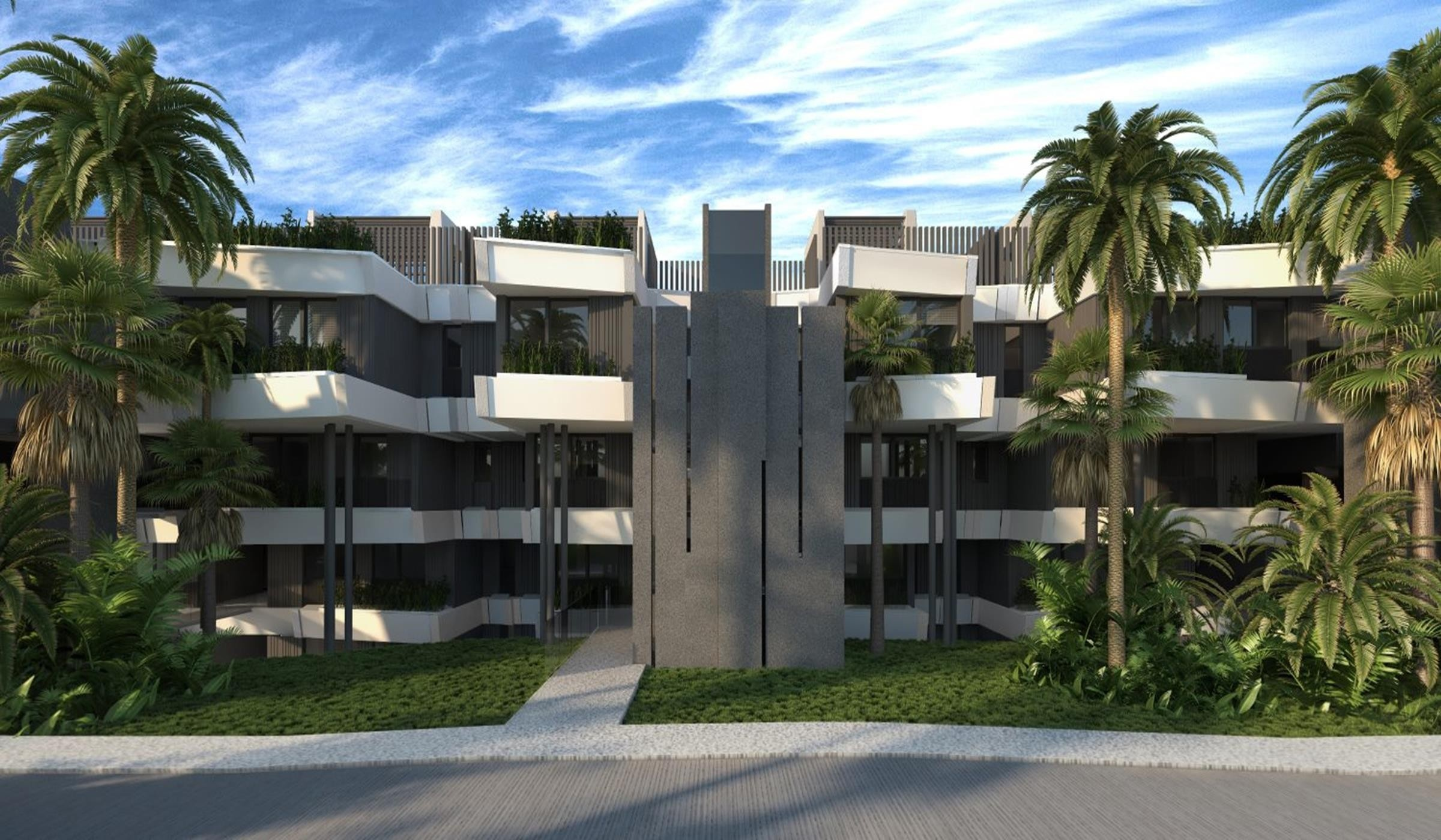 New housing complex between Marbella and Estepona.