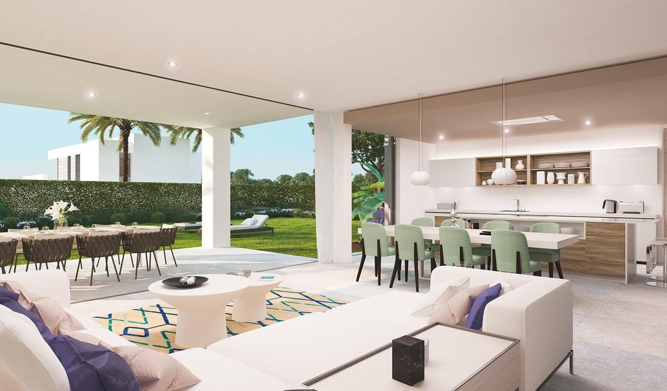 Luxury contemporary villa in Cancelada.