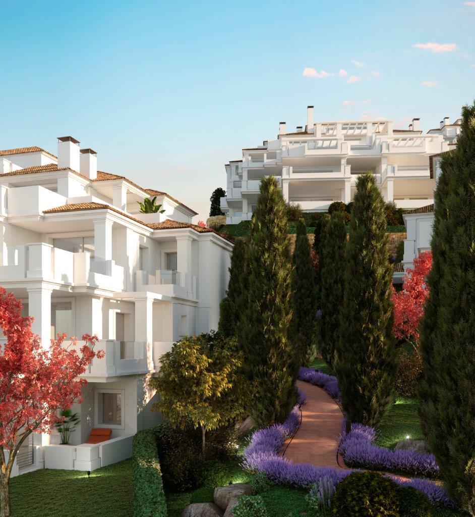 Luxury apartments complex in Nueva Andalucía