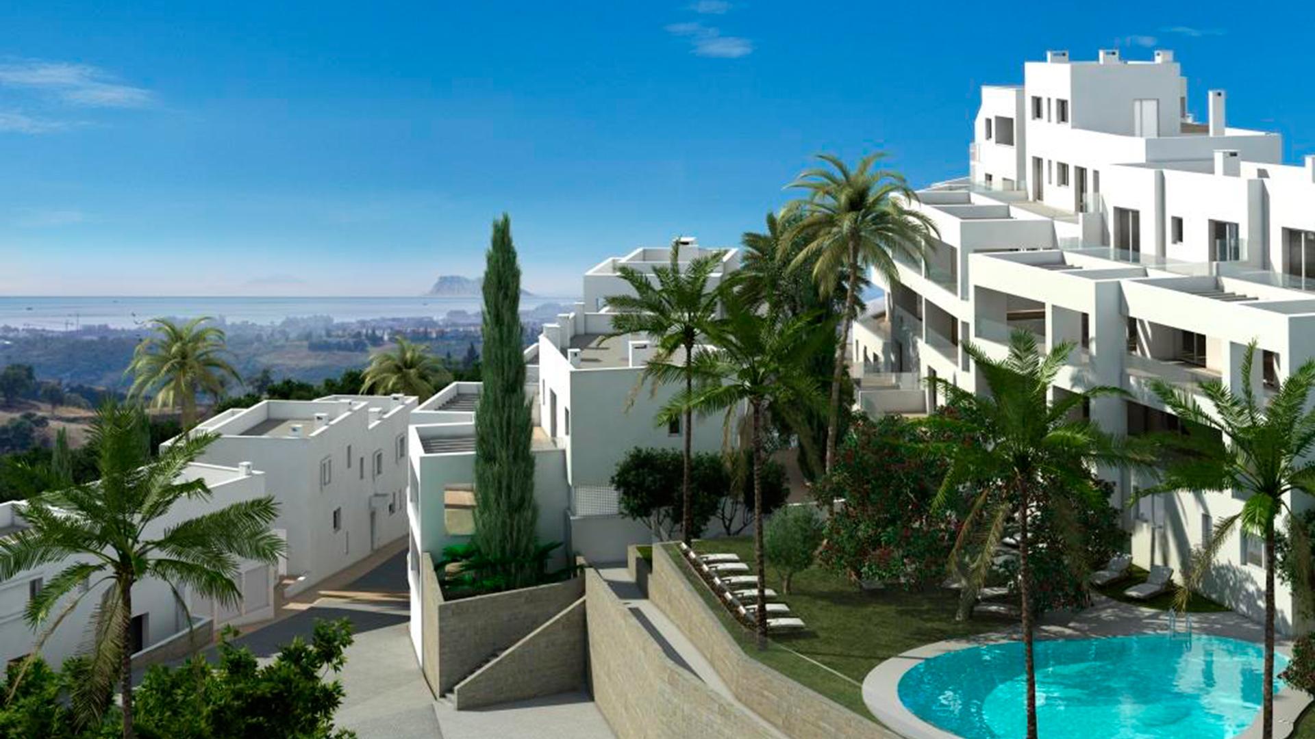 New housing promotion in Altos de Los Monteros.