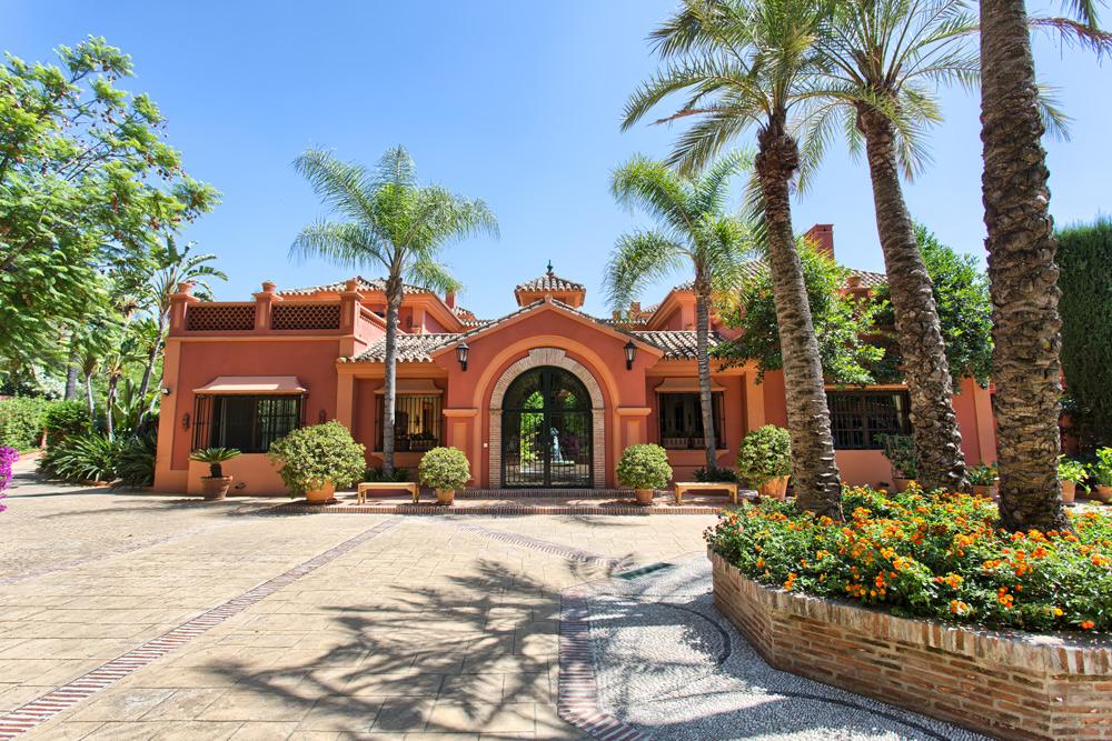 Villa tradicional de calidad situada en La Zagaleta.