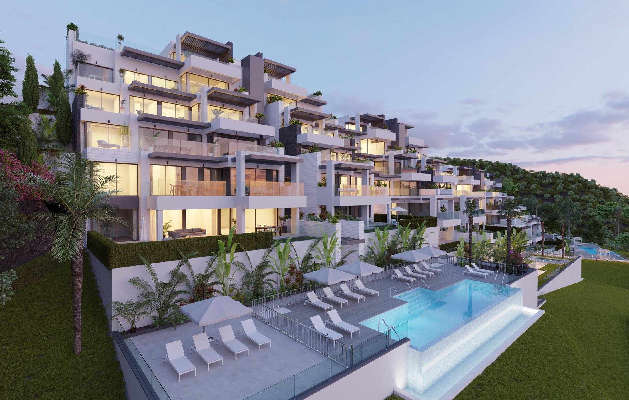 Luxury modern residential in Benahavis.