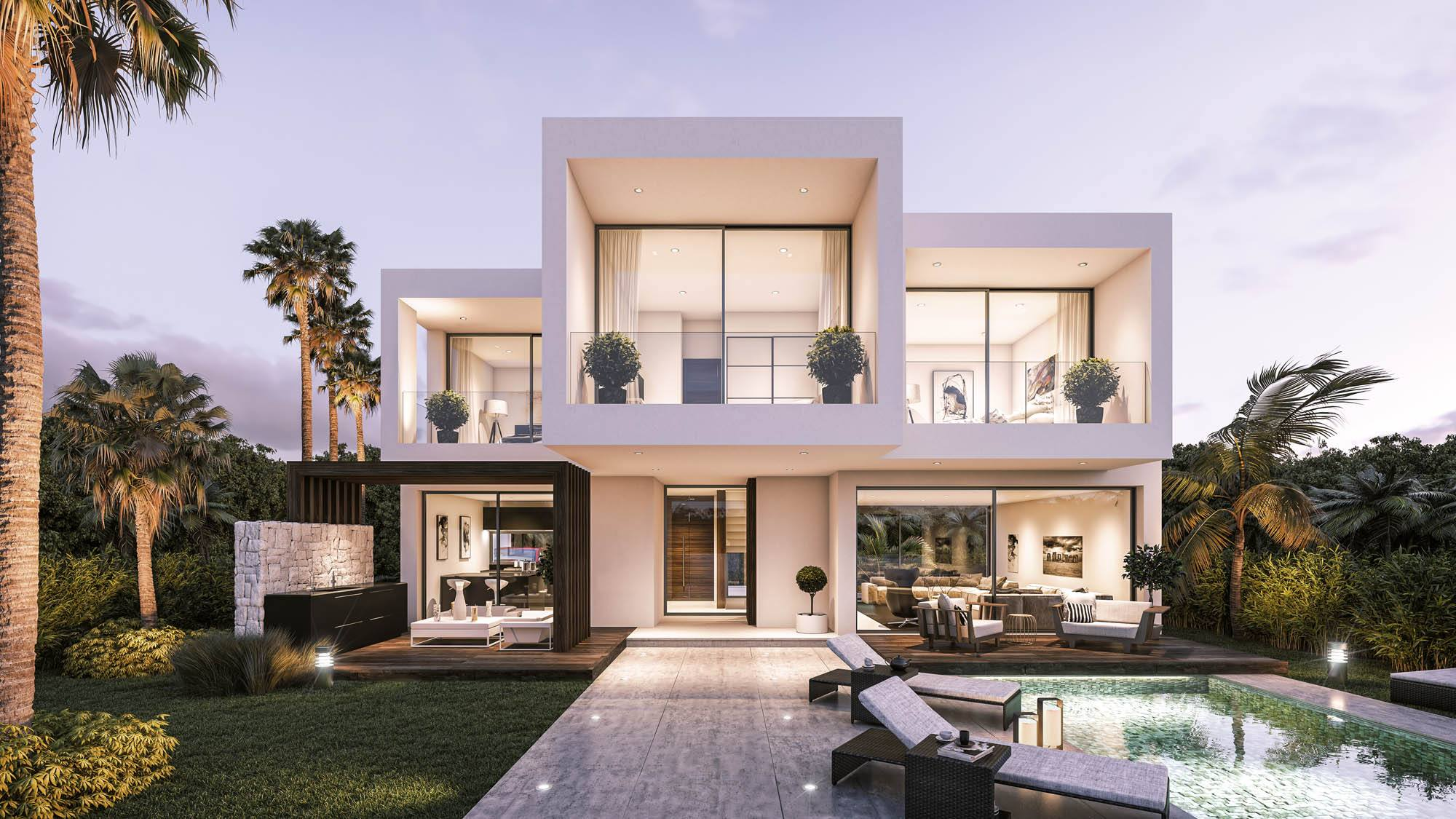 101 luxury villas in Estepona.