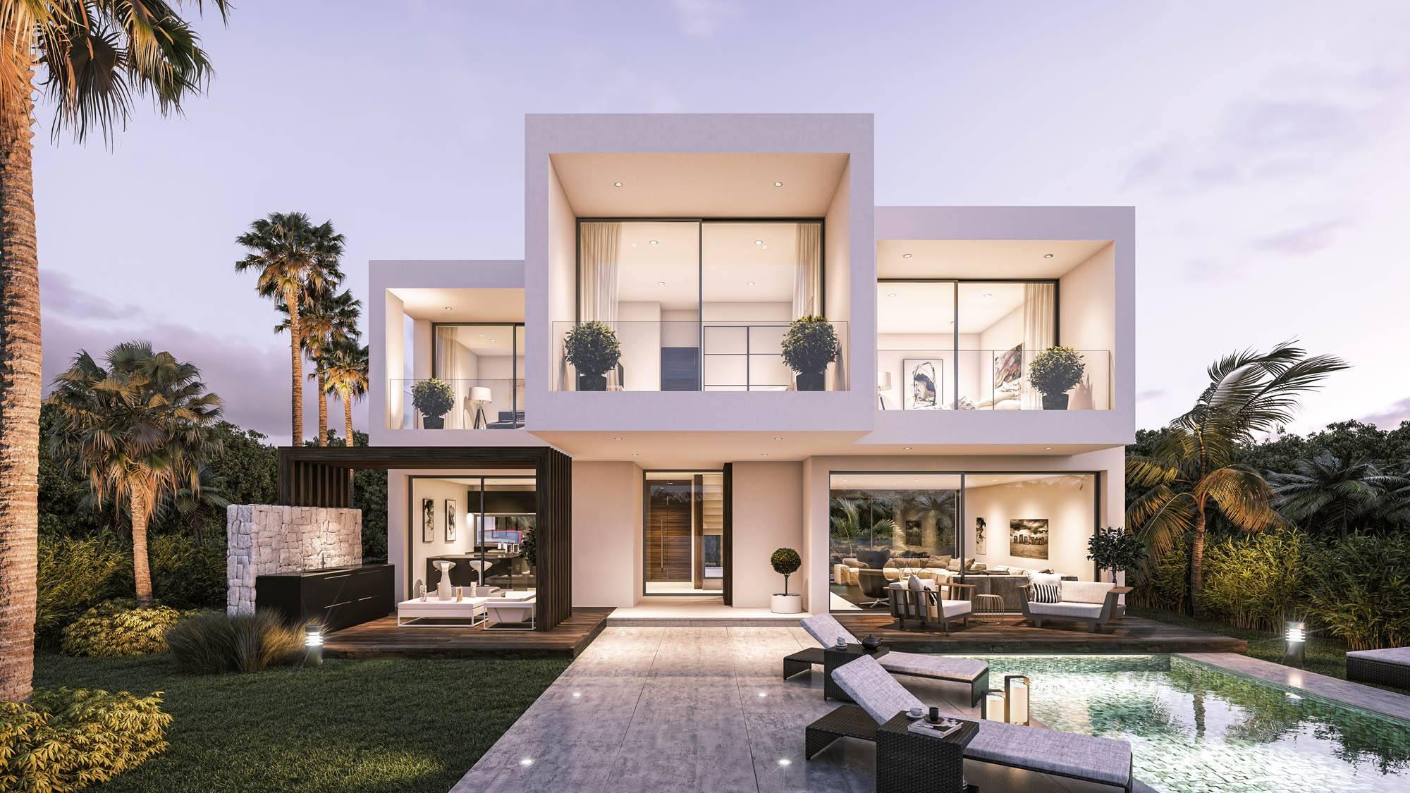 101 luxury villas in Estepona.