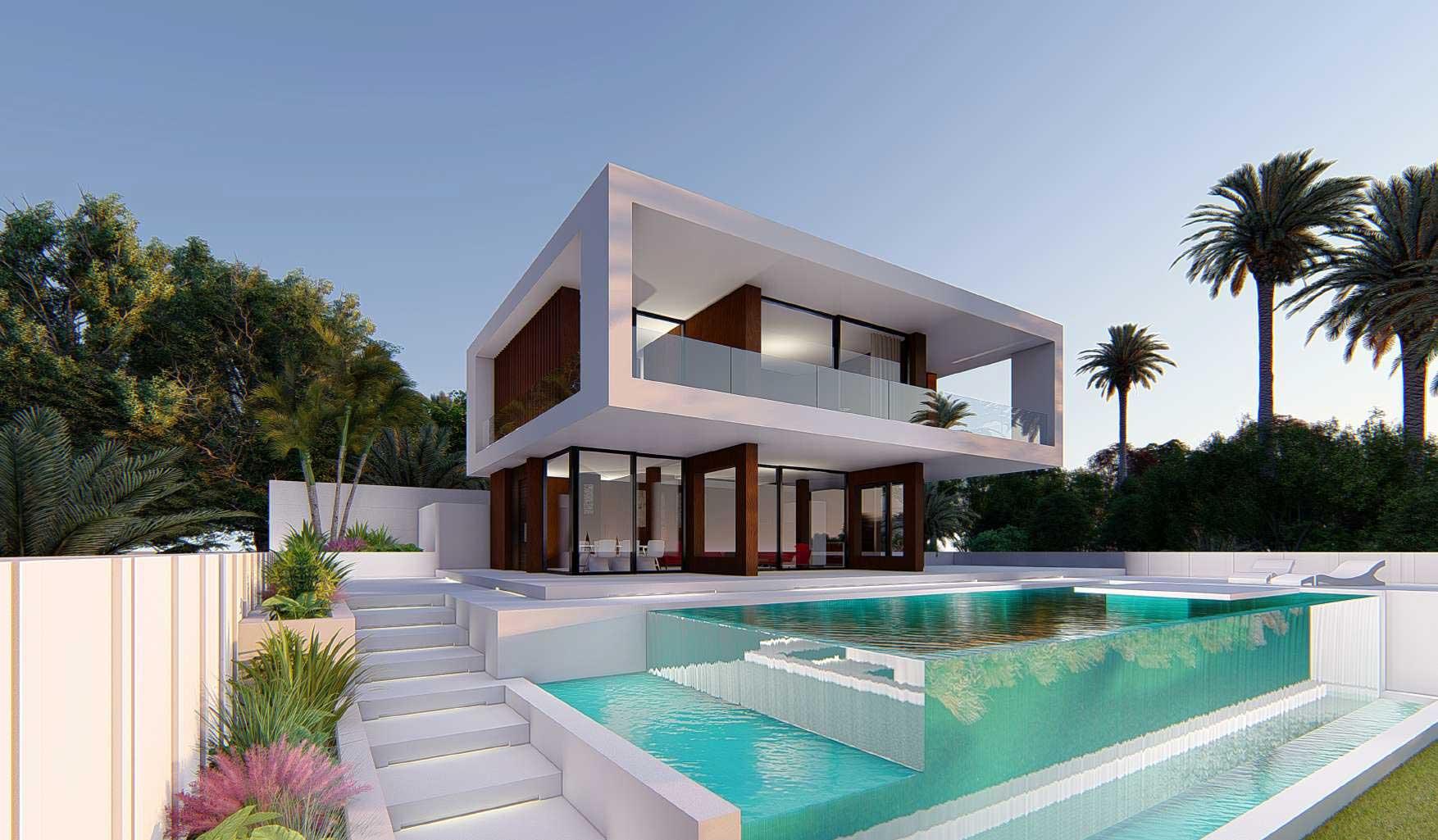 Contemporary villa in Valle Romano, Estepona.
