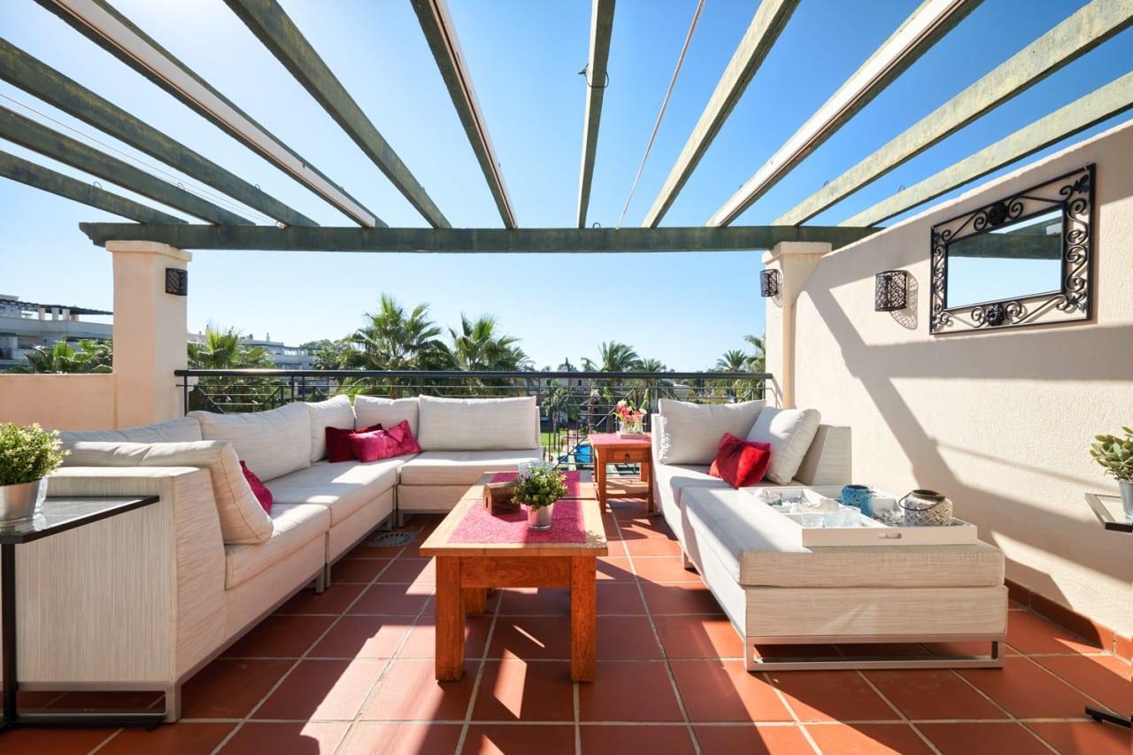 Top floor apartment in Altos del Rodeo, Puerto Banus.