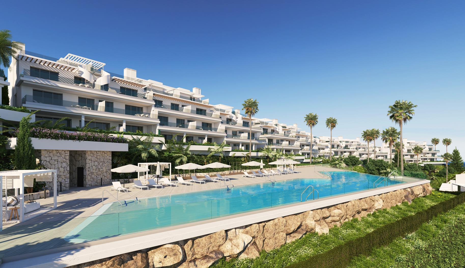 Select contemporary apartments in Cancelada