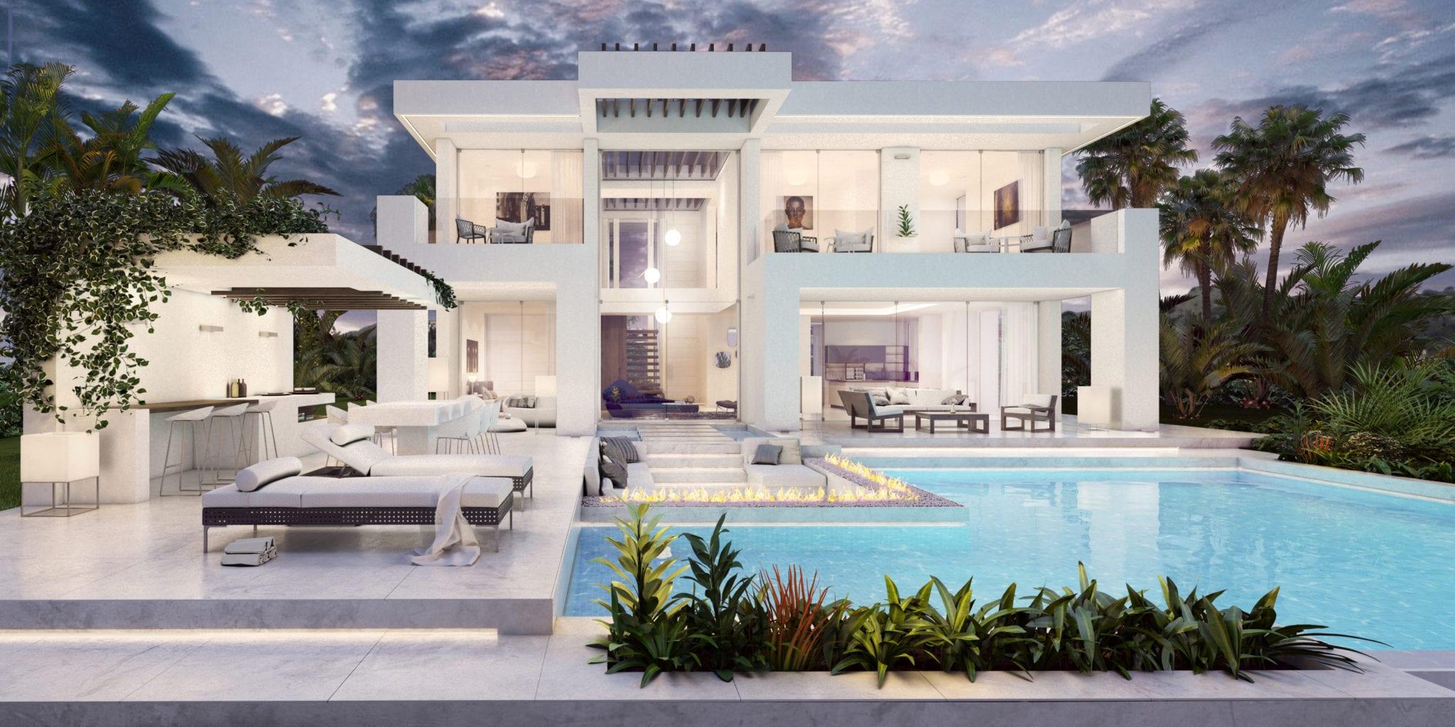 Contemporary luxury villa in Nueva Andalucía, Marbella
