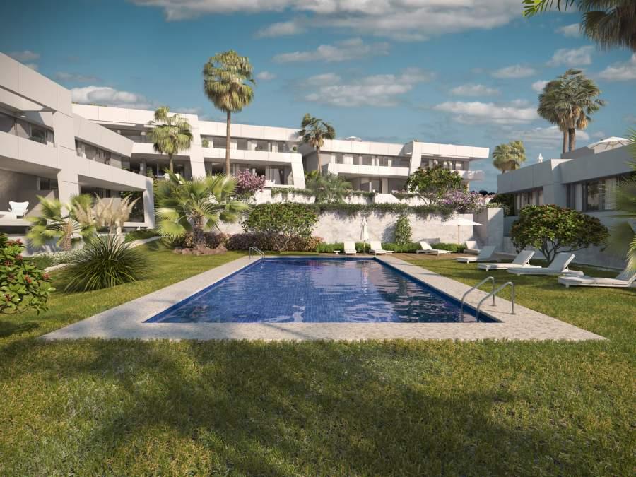Exclusive townhouse complex in Rio Real, Marbella