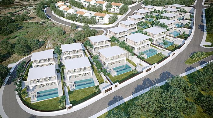 Complejo de villas modernas en Puerto de La Duquesa