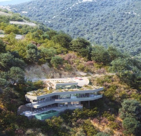 Villa of unique design, in Monte Mayor Country Club