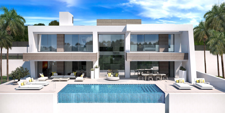 Modern luxury villas in El Paraiso, Estepona.