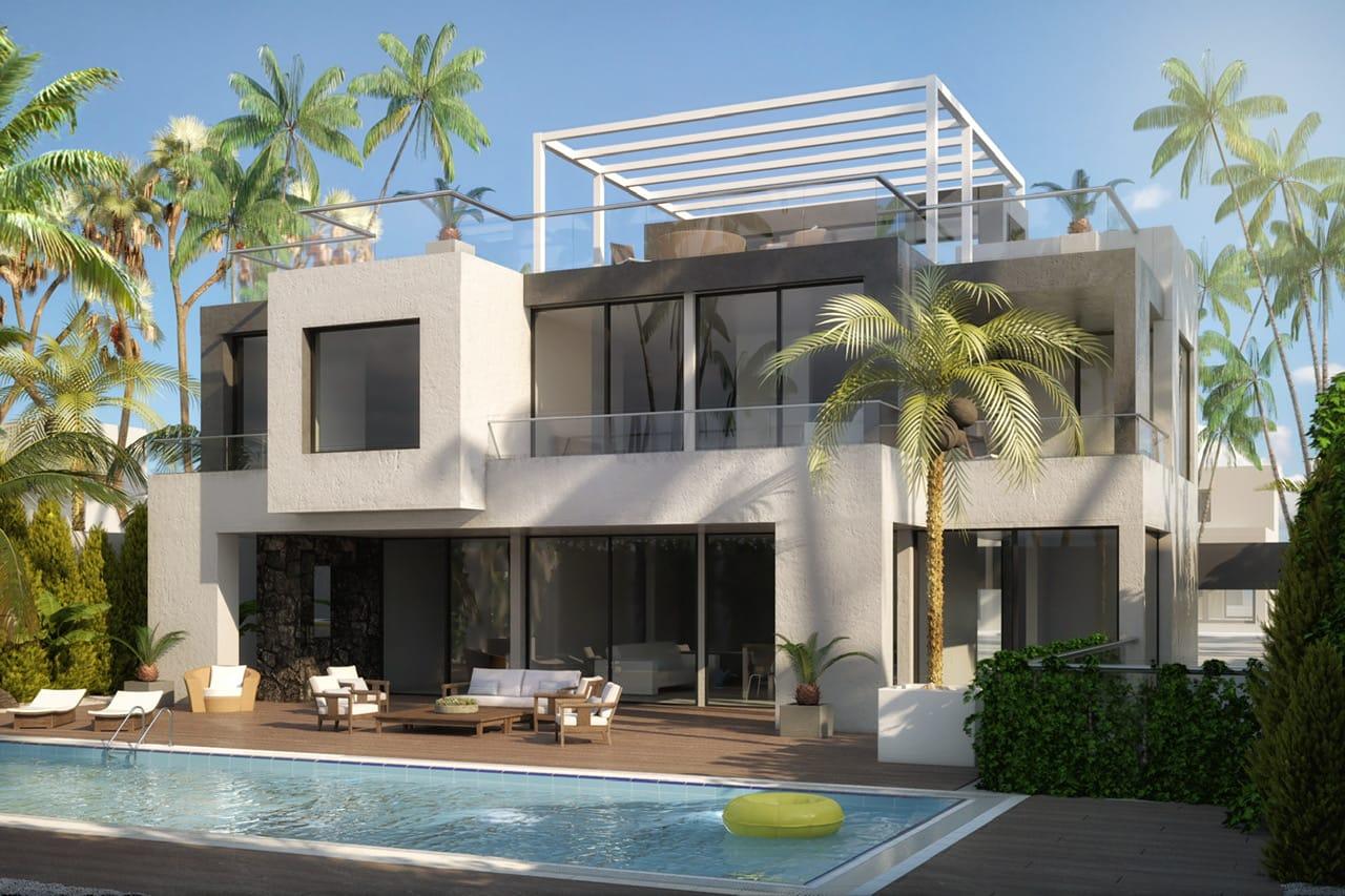Villa en construcción en La Milla De Oro