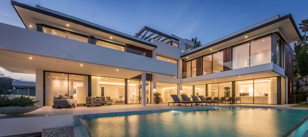 Villa contemporánea de nueva construcción en La Alqueria