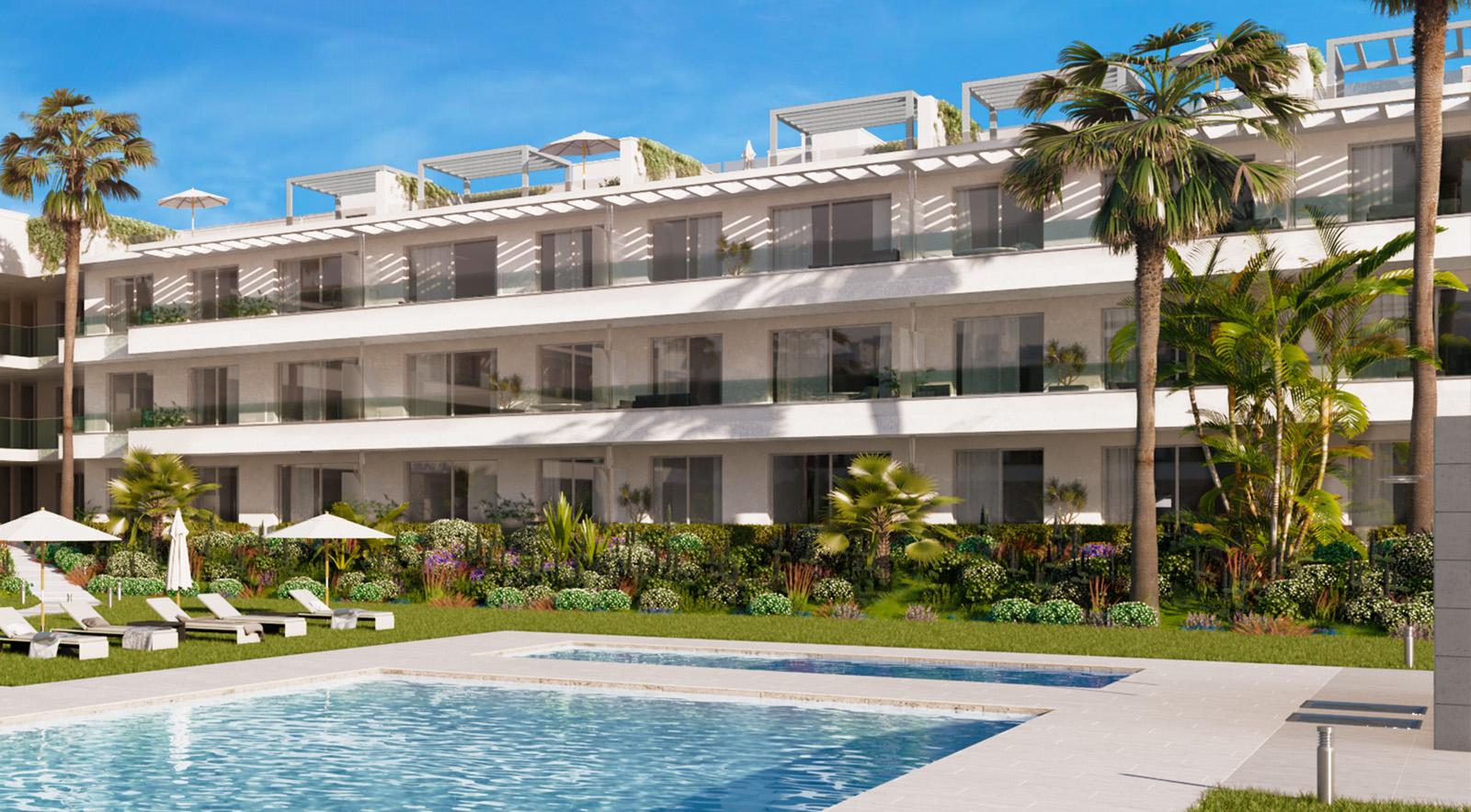 Apartamento junto a la playa en La Nueva Milla de Oro