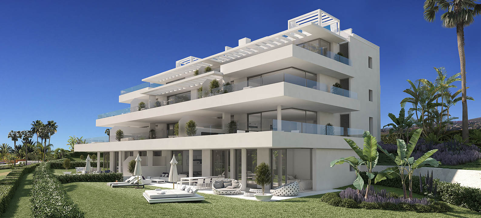 Modern ground floor apartment in Atalaya Alta