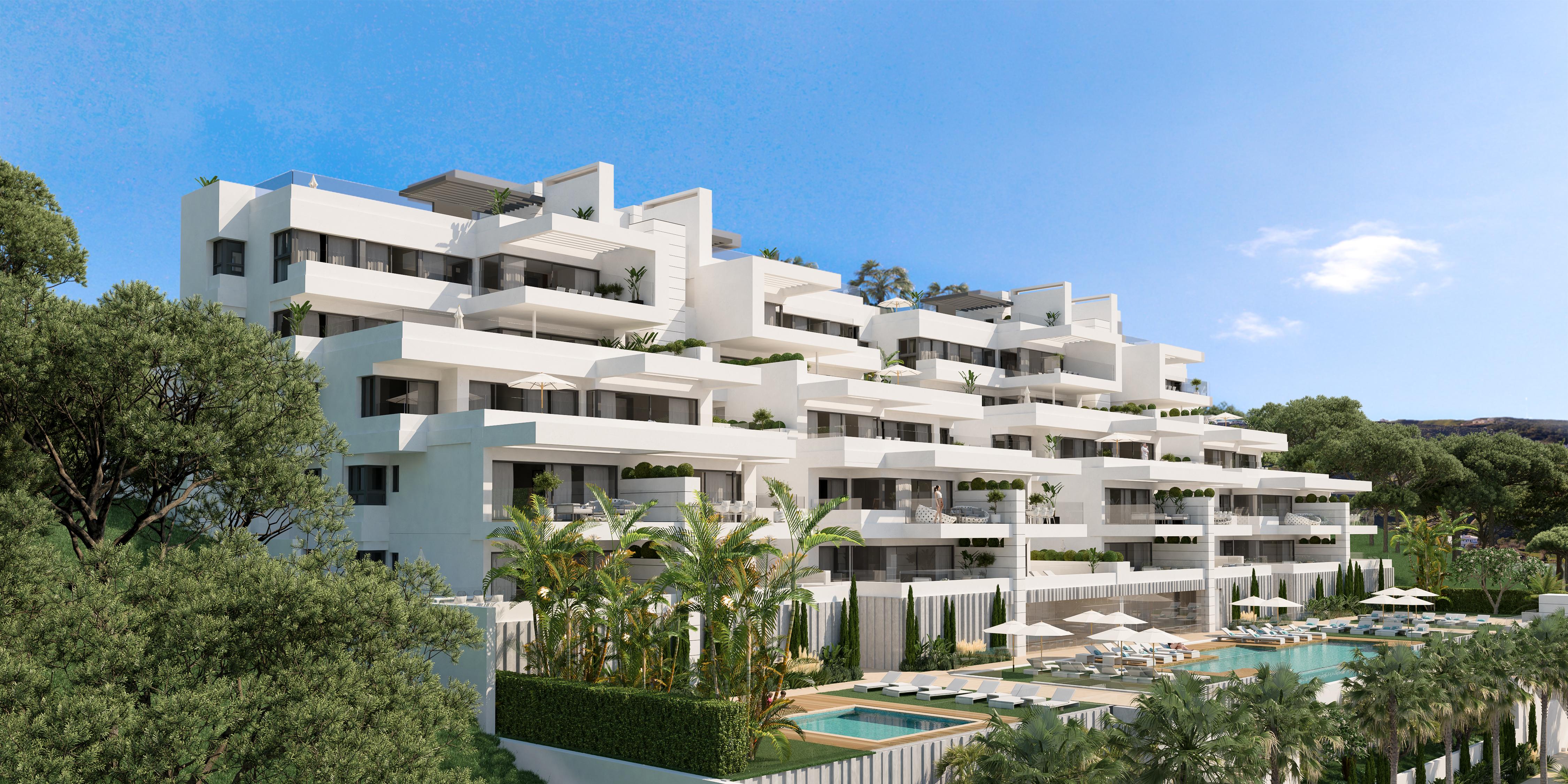Nuevo proyecto boutique de apartamentos, Estepona