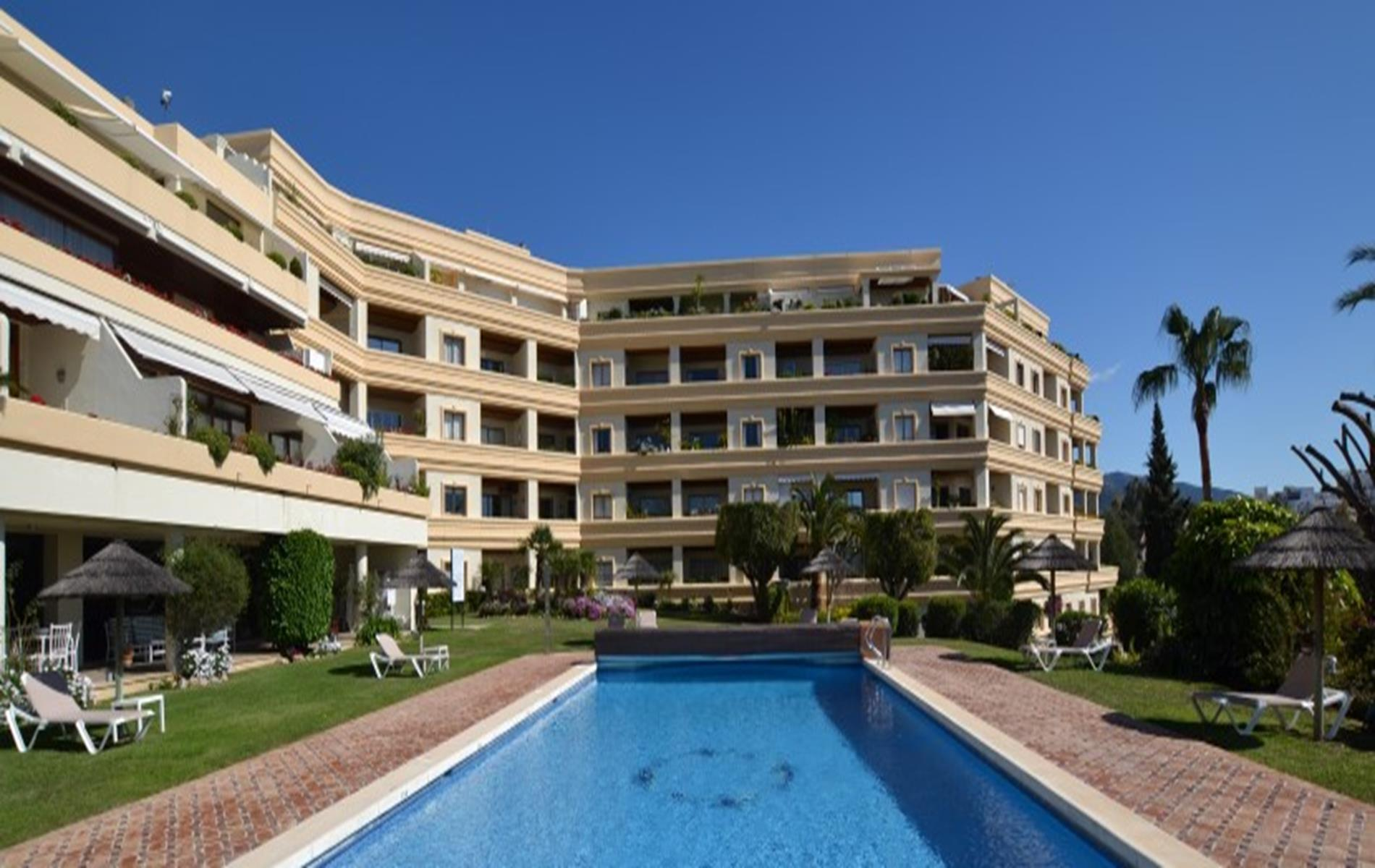 Acogedor apartamento de 1 dormitorio en Hotel Del Golf