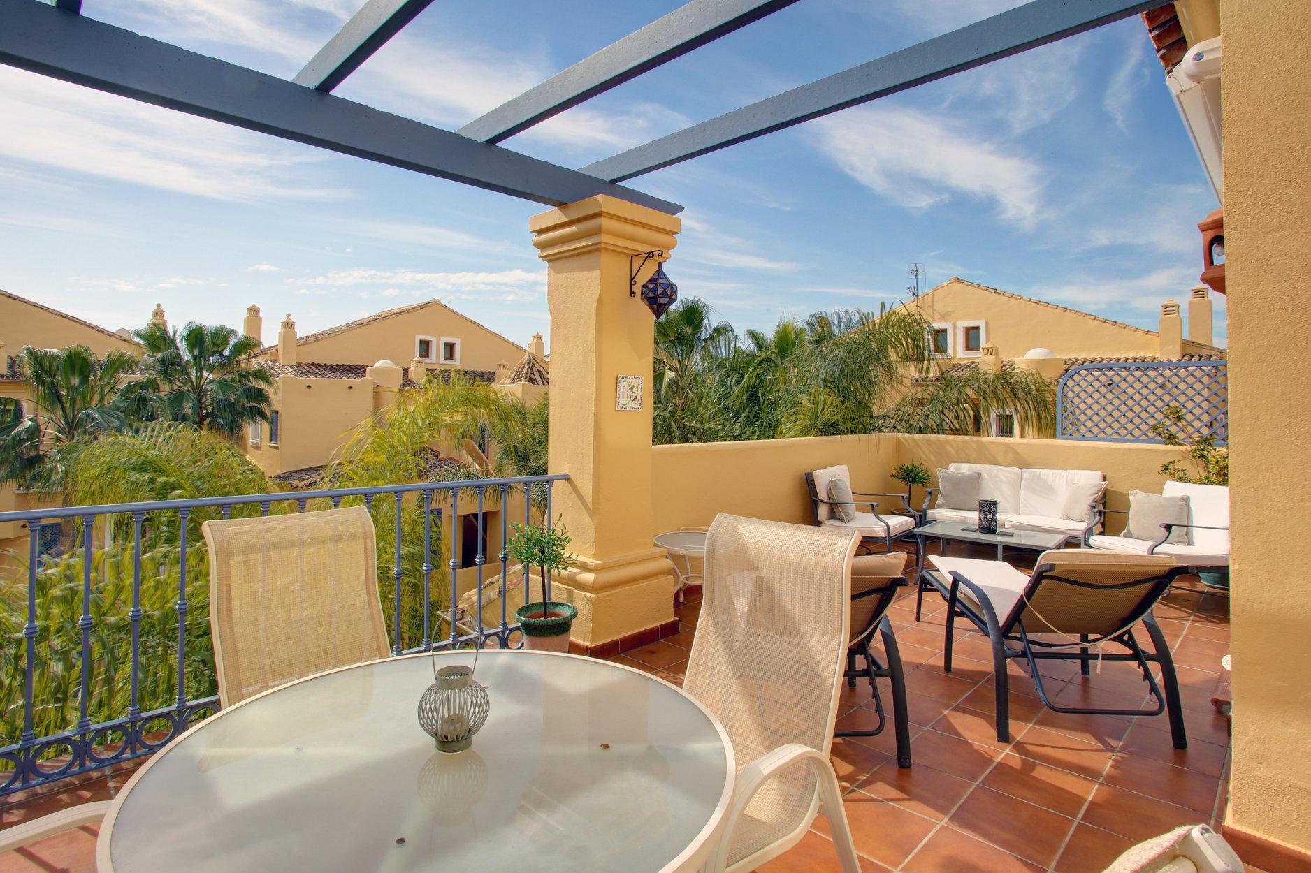 Cozy duplex penthouse in Nagüeles. Marbella